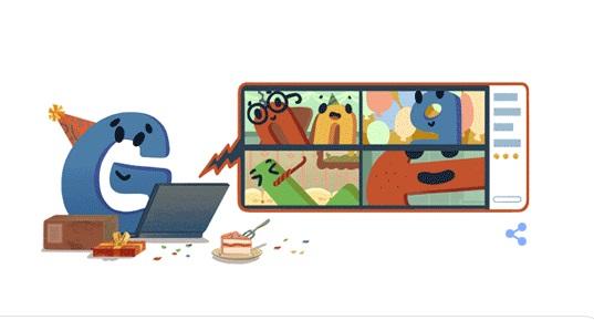 اليوم عيد ميلاد شركة جوجل 22 والتي لا يخلو اي جهاز ذكي من خدماتها