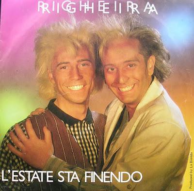 Musica serie 45 giri : Righeira – L'Estate Sta Finendo (1985)