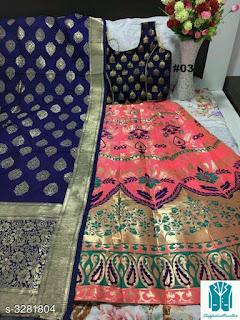 Anshu Designer Banarasi Brocade Lehengas