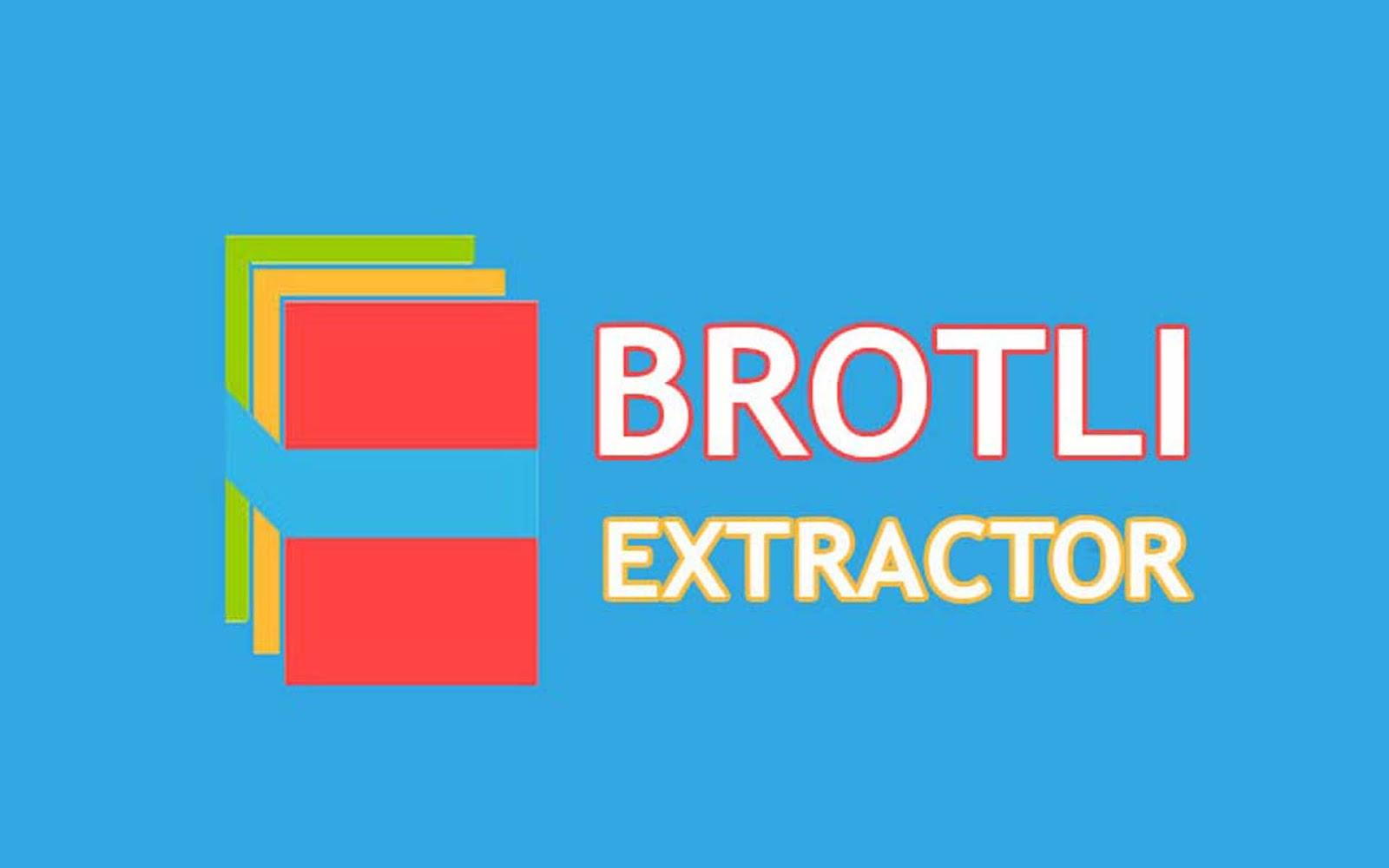Brotli Extractor