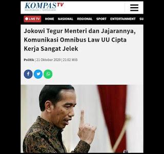 Wartawan Senior: Jokowi Melecehkan Ilmu Pengetahuan