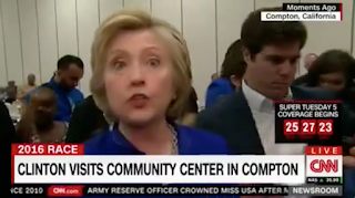 Hillary Takes 8 Minutes of Questions From The Press