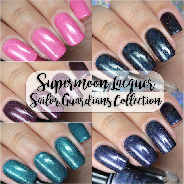 Supermoon Lacquer - Sailor Guardians Collection - Outer Set