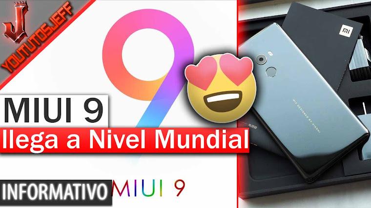 MIUI 9 llega a nivel mundial - Novedades, pantalla dividida y mas