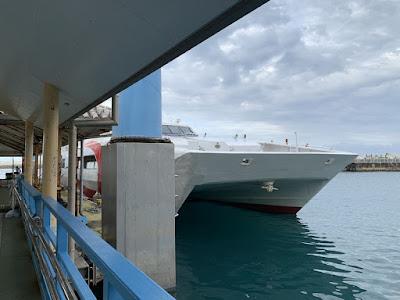 波照間島への大型高速船