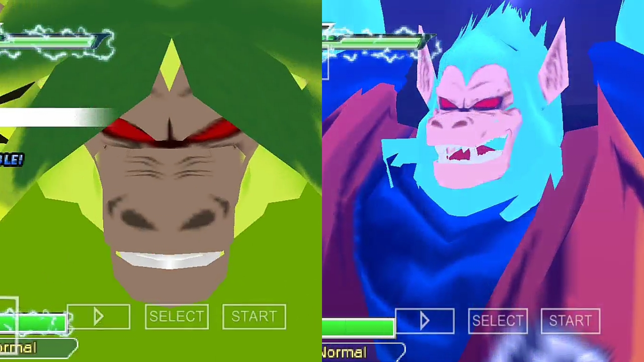 Broly Vs Goku Dragon Ball Z