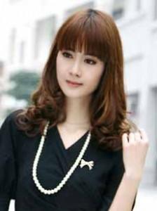 "Gaya Rambut Wanita Korea 2010-2011 ""Keriting Gantung"