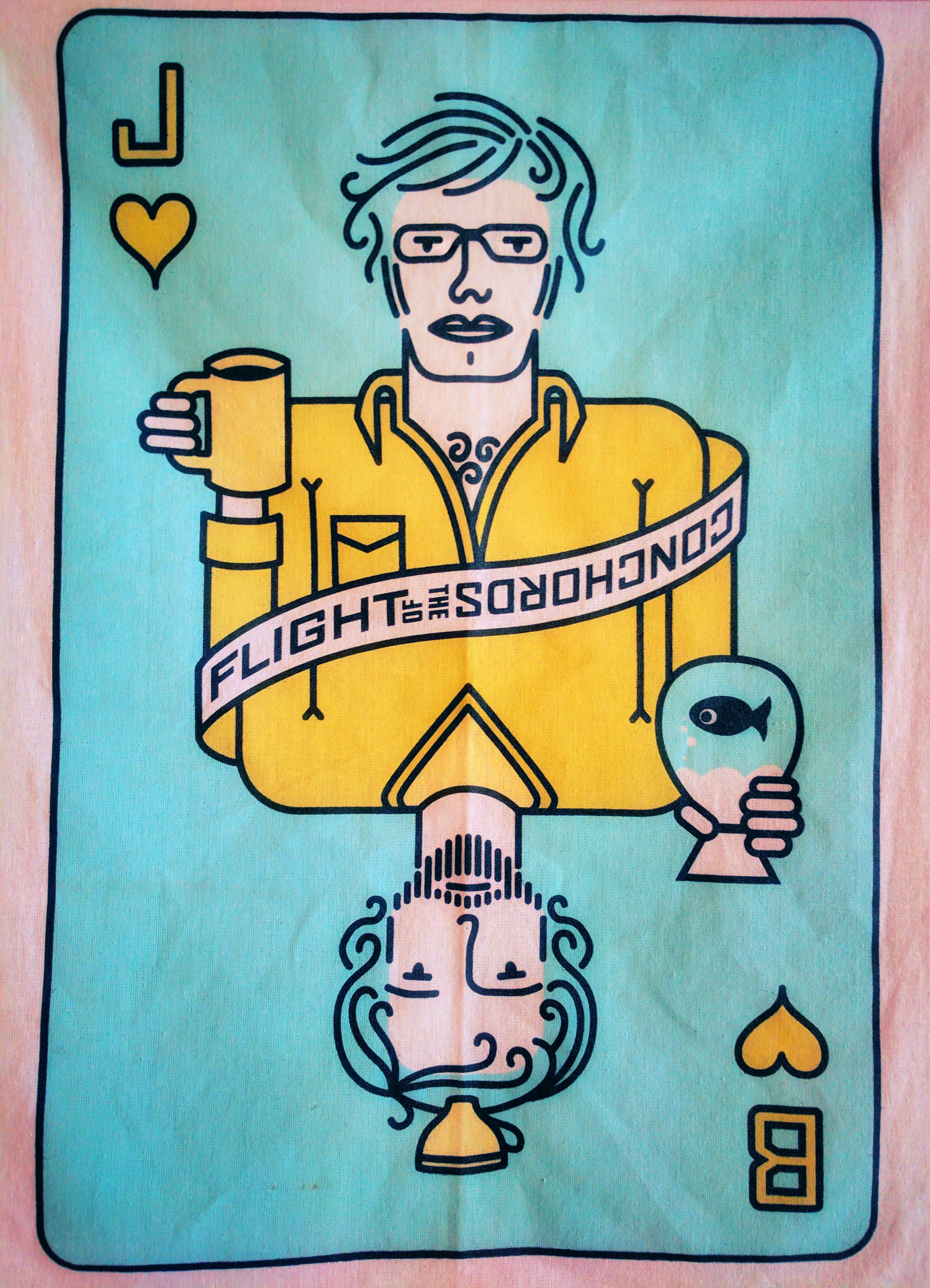 Jemaine & Bret playing card