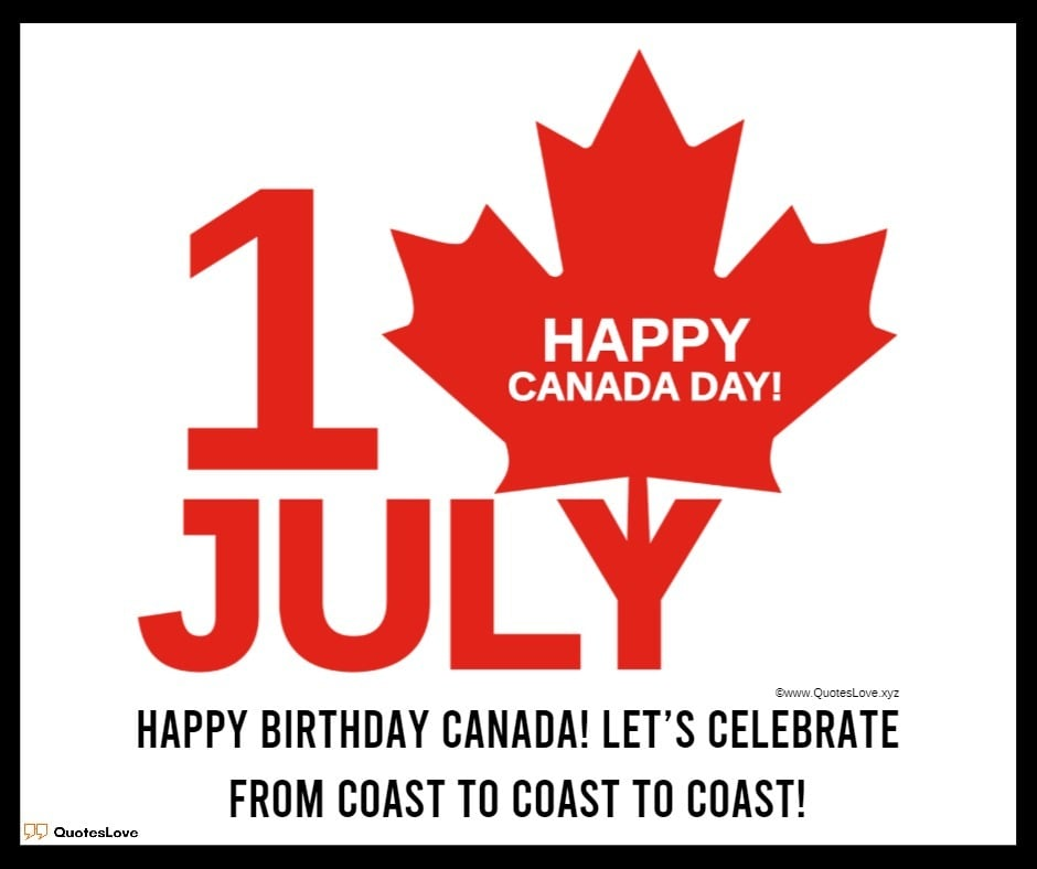 Happy Canada Day Images, Pictures, Poster, Photos, Wallpaper