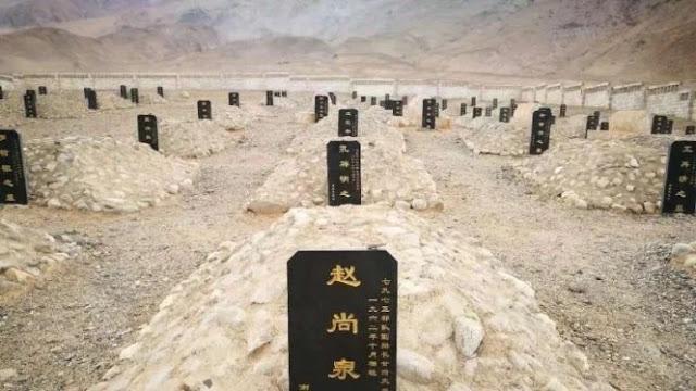 Heboh, Ditemukan Makam Tentara China Korban Bentrok Lawan India