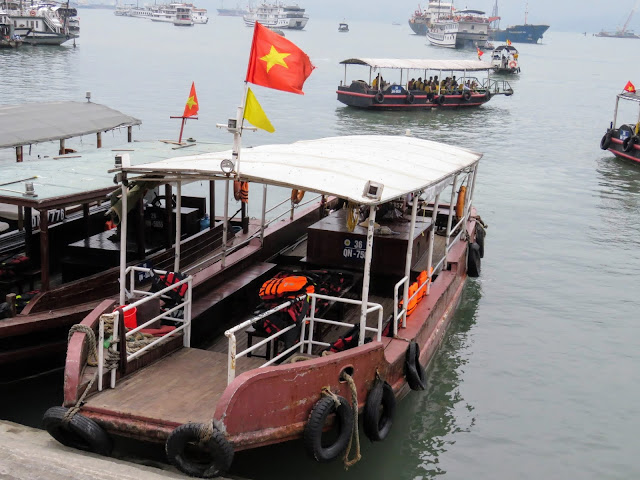 Tender in Halong Bay Vietnam
