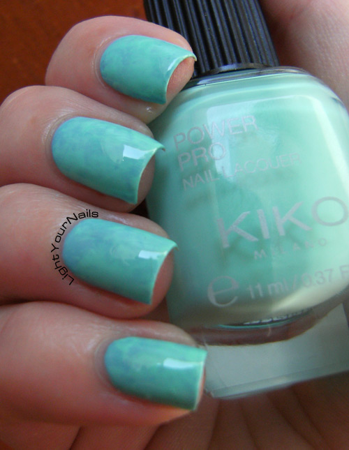 Kiko Power Pro 36 Acquamarina + 37 Oceano saran wrap