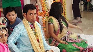 Amrapali dubey shoot aashiq aawara film 3.jpg
