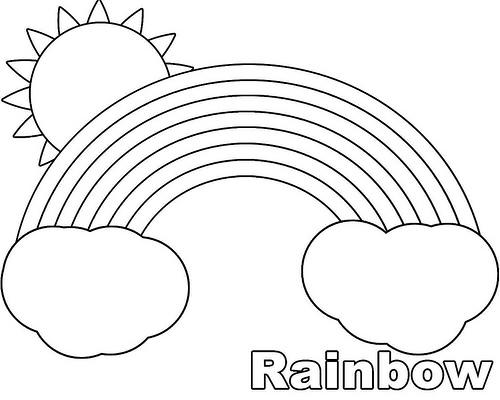 Fichas De Inglés Para Niños Printables Rainbows