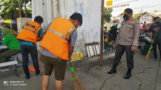 Operasi Yustisi rutin digelar Polsek Tambora Jakarta Barat bersama Tiga Pilar