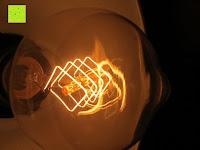 eckig: amzdeal® Vintage Glühlampe Glühbirne T03 (40W, E27, 220-240V)