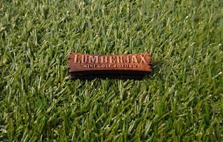 Badge from Lumberjax Mini Golf