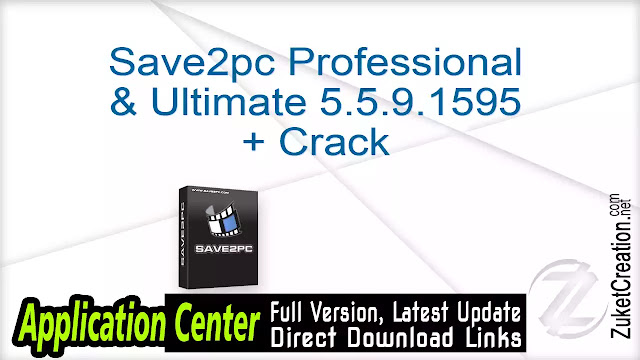 Save2pc Professional Ultimate 5.5.9.1595 + Crack