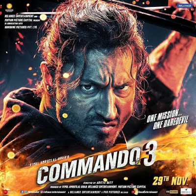 Commando 3 full hindi movie Leaked by TamilRockers, Cinevood and KhatriMaza For Download