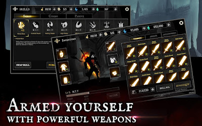 "Shadow of Death Drak Knight  ""Stickman Fighting"" Mod Apk"