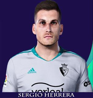 PES 2021 Faces Sergio Herrera by Rachmad ABs
