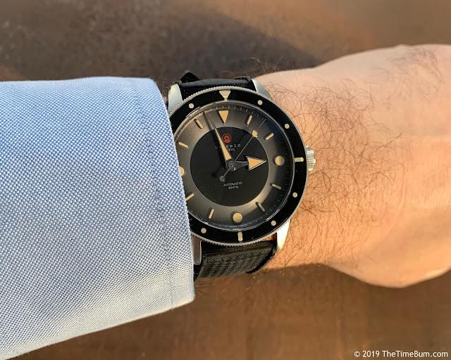 Direnzo DRZ 03 Eclipse wrist