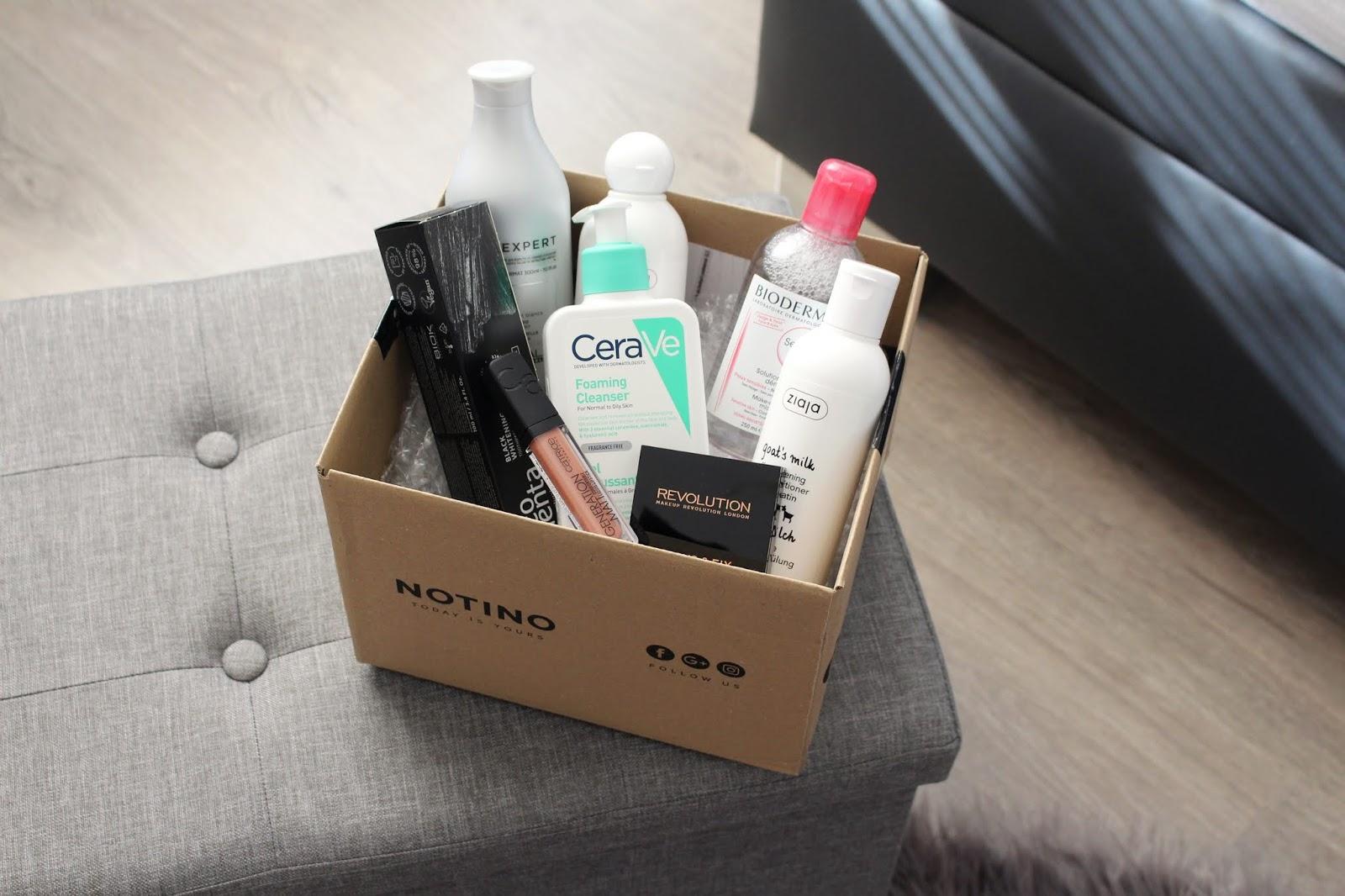 balík produktov na testovanie SydneySleek blog