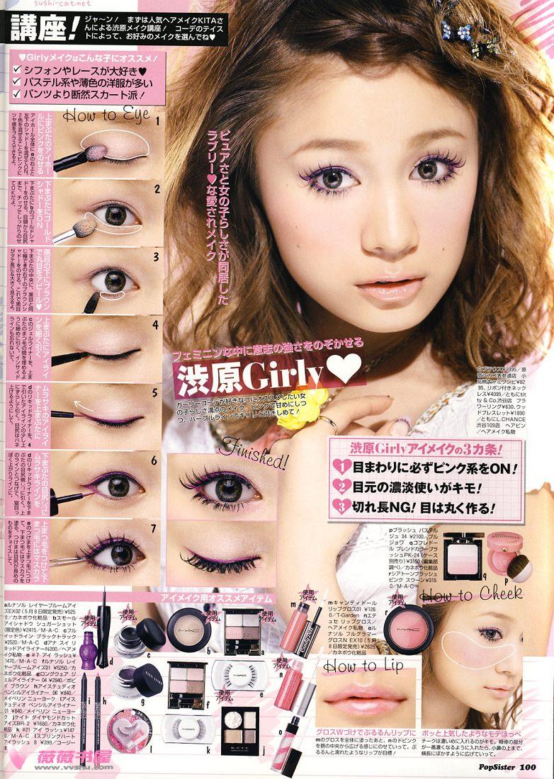 makeup asian to How