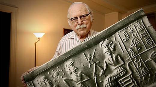 Zecharia Sitchin: Tablillas sumerias de 20.000 años de antigüedad y nuestra existencia en la Tierra