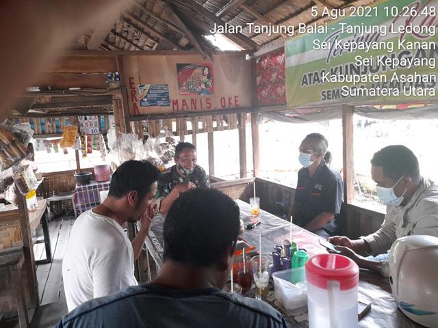 Komunikasi Sosial Dilaksanakan Personel Jajaran Kodim 0208/Asahan Dalam Rangka Jalin Silaturahmi Diwilayah Binaan