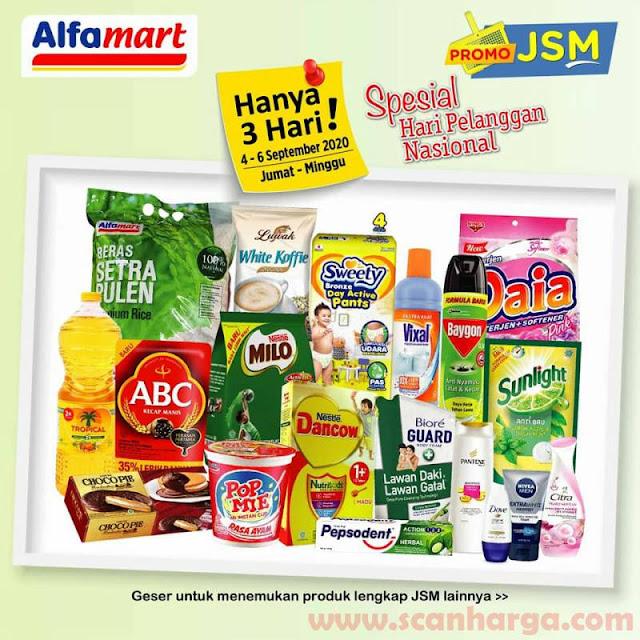 ALFAMART Promo JSM Spesial HARPELNAS - Hari Pelanggan Nasional 4 - 6 September 2020 1