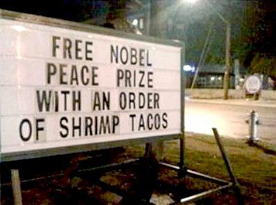 Free Nobel Peace Prize!