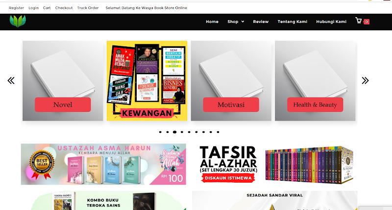 Upah Website E-Commerce 2020 termurah di Malaysia kini Kembali !