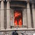 Manifestantes prenden fuego al Congreso