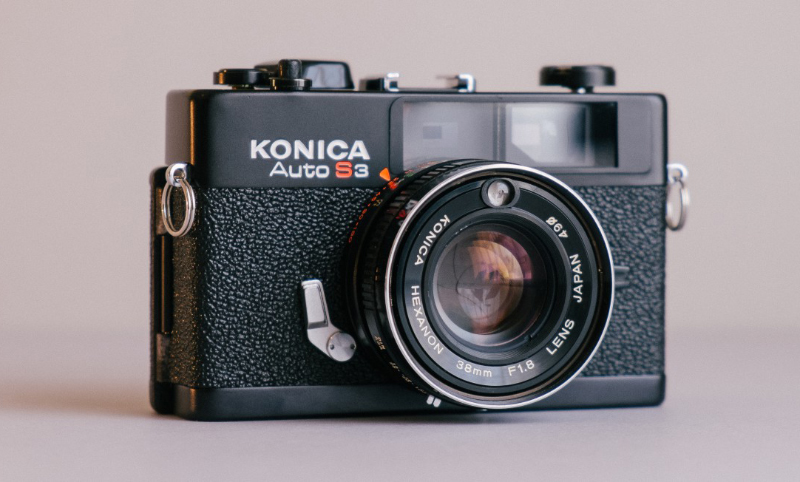 Kamera Auto Anlaog pake Klise dari Konica S2
