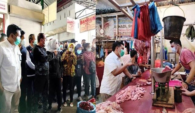 Jelang HBKN, KPPU dan Pemprov Sumut Sidak Pasar Tradisional