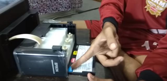 Cara Mengatasi Warna Tidak Terbaca Tinta Printer Epson L360