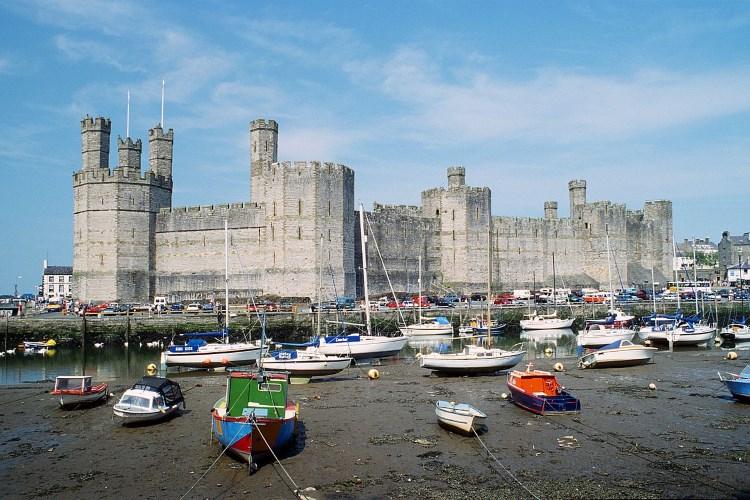 اجمل القلاع في ويلز