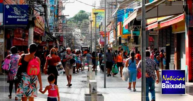 Justiça determina que Caxias suspenda decreto municipal que autoriza reabertura do comércio