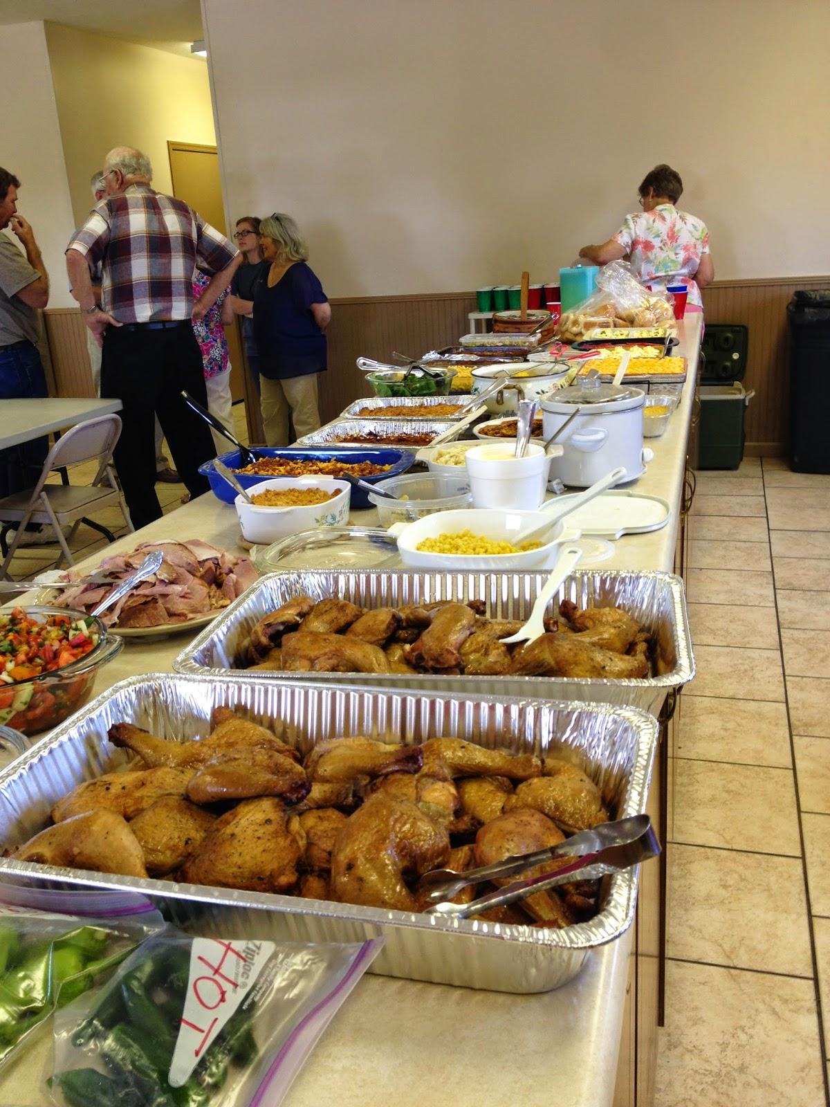 family reunion food | food