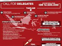 Lomba Debat Nasional 2019 di Universitas Sumatera Utara