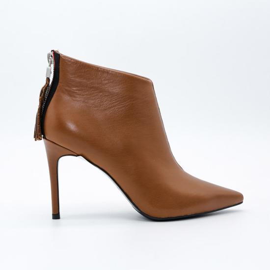 Giày Boot da nữ Aokang 182911009 Nâu