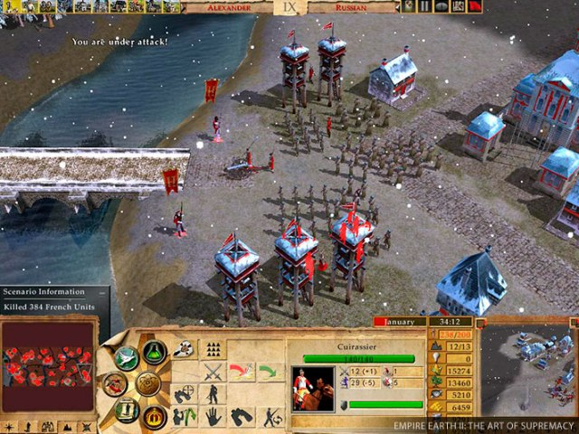 Empire Earth 2 Gold Edition Gameplay PC