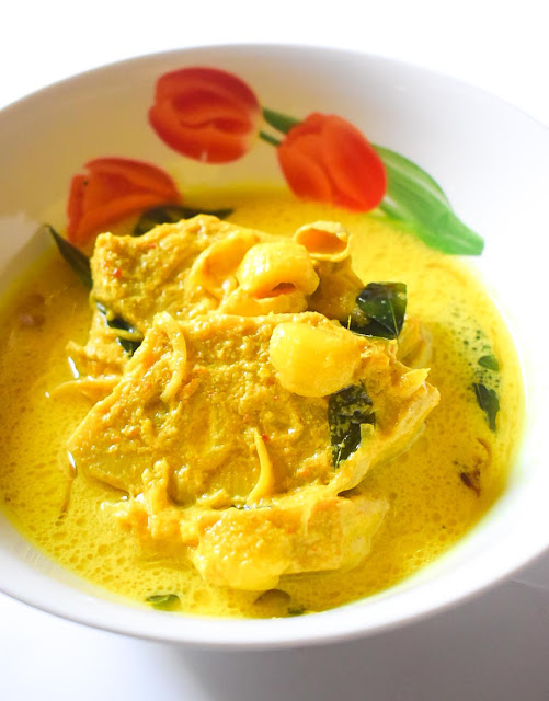 Resepi Nangka Masak Lemak Cili Padi atau Gulai Lemak Kuning