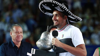 Kyrgios beats Zverev to win Acapulco title
