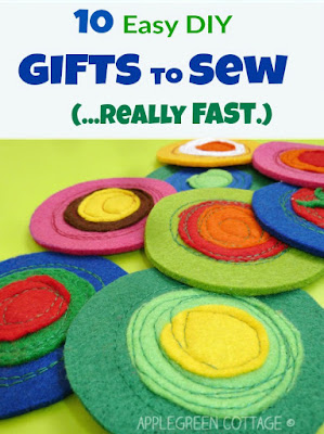 These easy to follow tutorials make great little sewing projects for beginners of all ages.