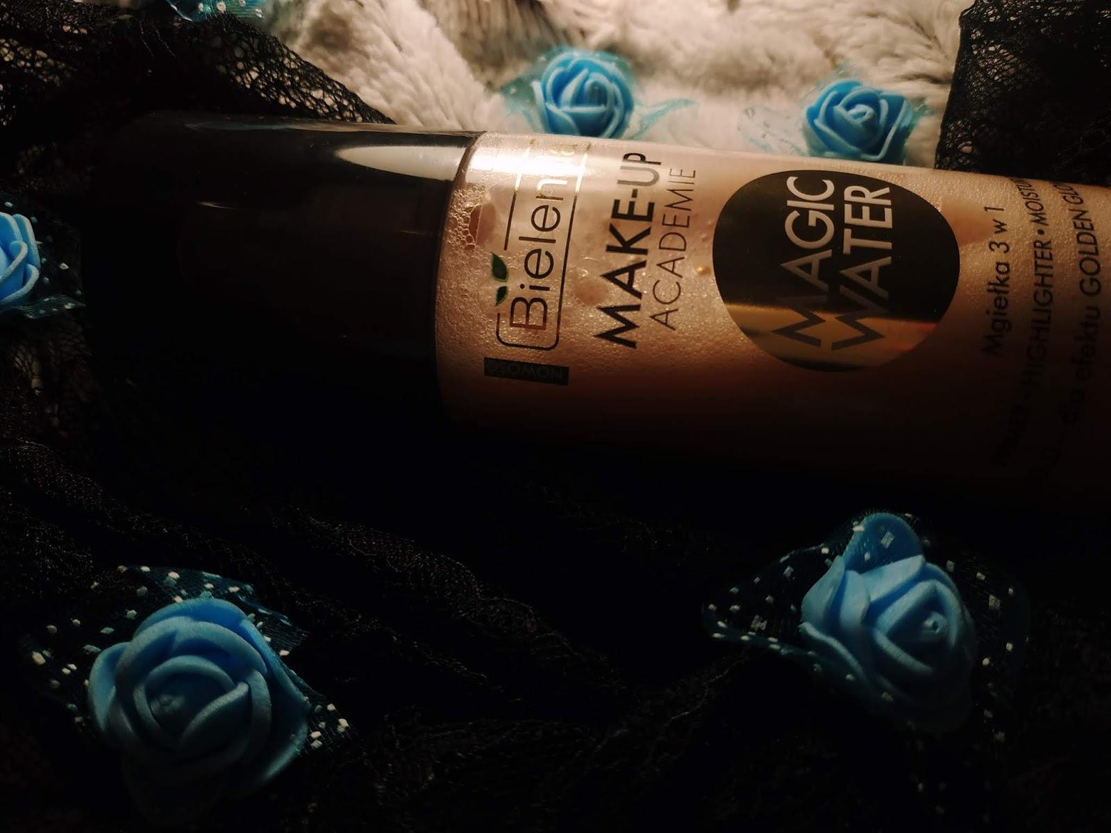 opinia mgiełki 3w1 Bielenda Magic Water Gold