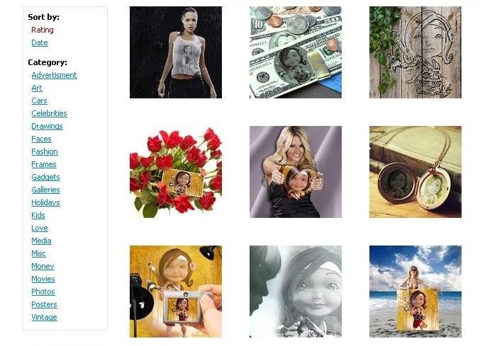 Rey's Anik Anik ATBP: Online Photo Editing- Creating Fun