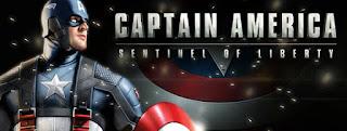 imagem do jogo Captain América Sentinel Of Liberty, O Sentinela da Liberdade.