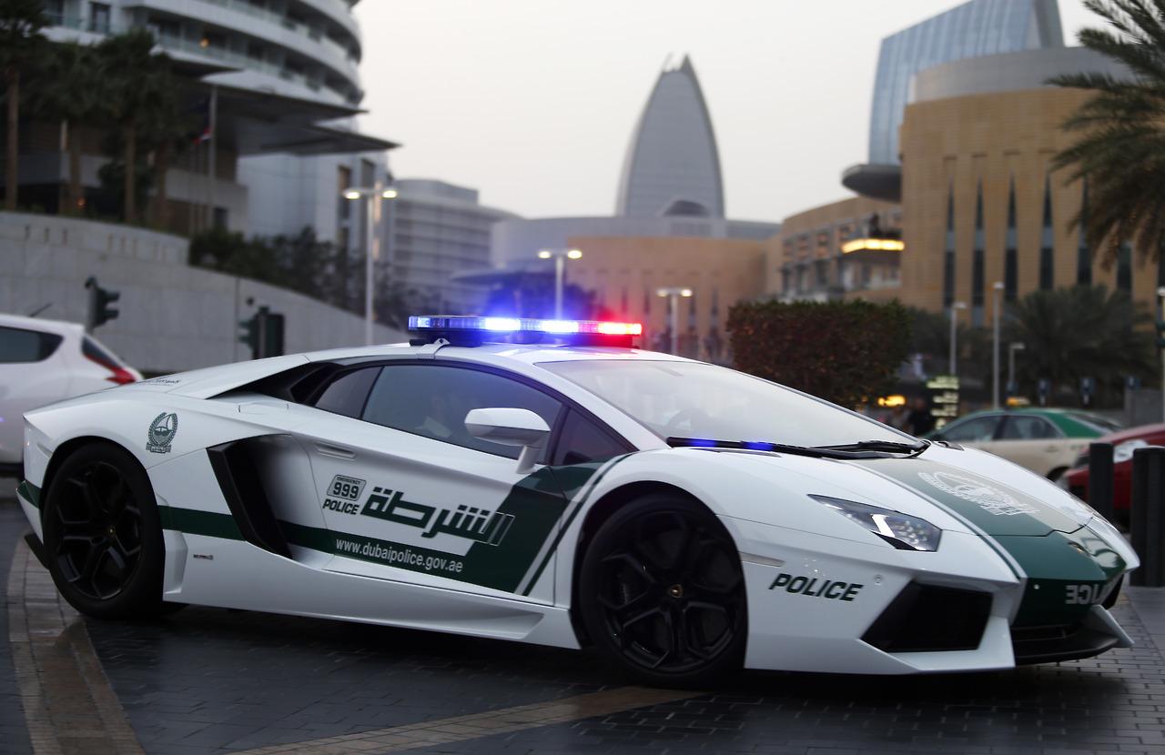 Dubai Polizeiauto